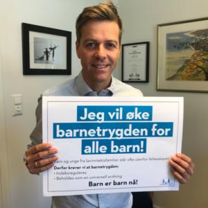 Knut Arild Hareide, leder i KrF